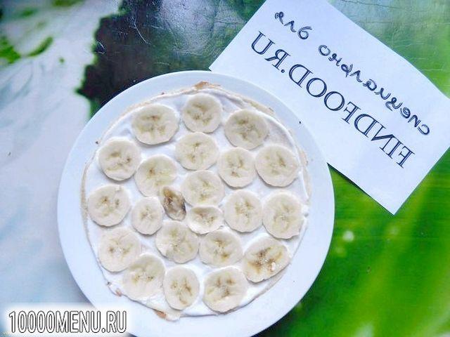 Фото - Банановий млинцевий торт - фото 11 кроку
