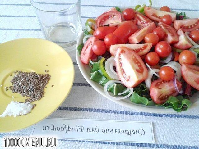 Фото - Овочевий салат з мангольда з насінням льону - фото 9 кроку