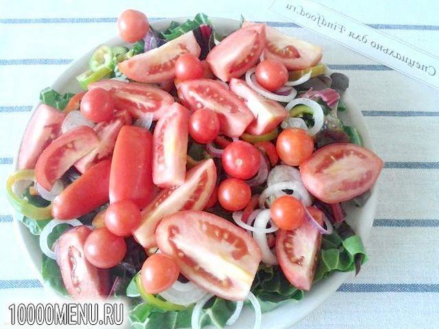 Фото - Овочевий салат з мангольда з насінням льону - фото 8 кроку