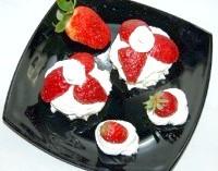 Як приготувати десерт полуниця в снігу - рецепт