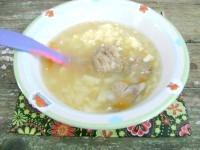 Як приготувати дитячий печінковий суп з домашньою локшиною - рецепт