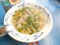Як приготувати дієтичний гречаний суп з курочкою - рецепт