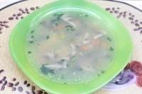 Як приготувати дієтичний суп на курячому бульйоні - рецепт