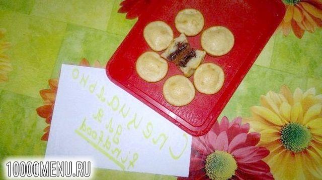 Фото - Двоколірні кекси з шоколадною начинкою - фото 6 кроку