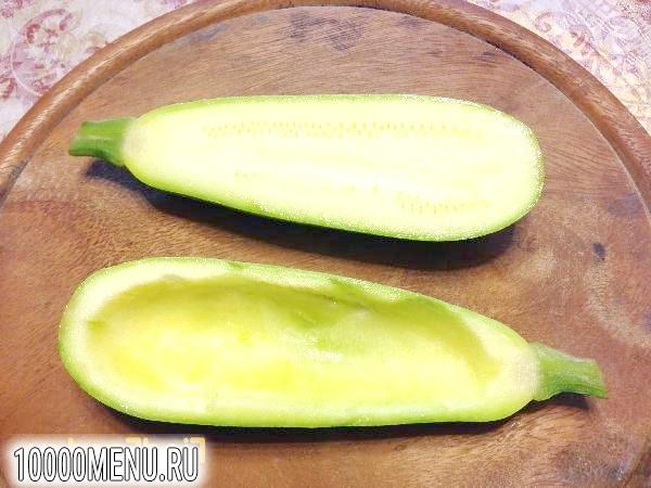 Фото - Фарширований овочами кабачок - фото 1 кроку