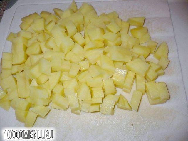 Фото - Квасоля тушкована з картоплею в сметані - фото 2 кроки