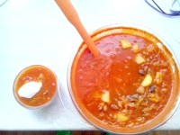 Як приготувати квасолевий суп з томатами - рецепт