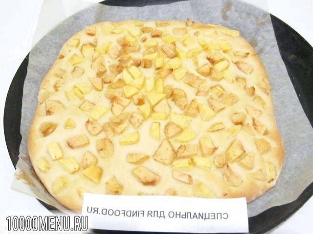 Фото - Фокачча з яблуками - фото 7 кроку