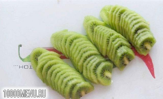 Фото - Фруктовий салат з вершками - фото 3 кроки
