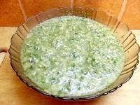 Як приготувати гаспачо із зеленню - рецепт