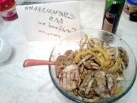 Як приготувати гарячий салат з овочів гриль - рецепт