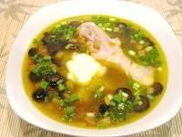 Як приготувати грибний суп з маслинами - рецепт