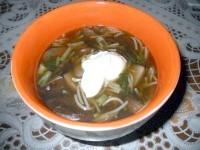 Як приготувати грибну локшину - рецепт