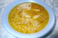 Як приготувати густий гречаний суп на курячому бульйоні - рецепт