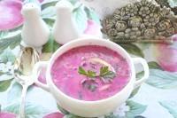 Як приготувати холодний буряковий суп з куркою - рецепт