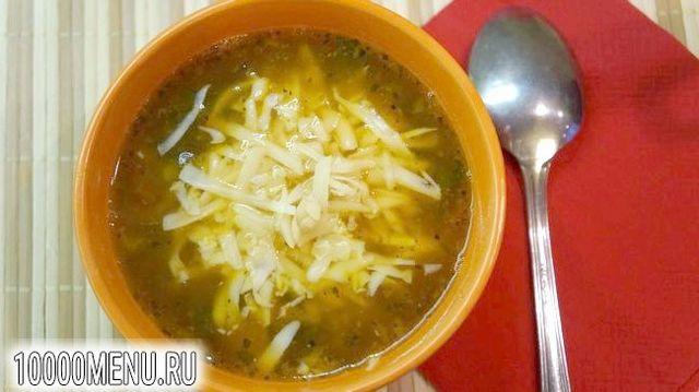 Фото - Італійський суп з сочевицею і дрібної пастою - фото 13 кроку