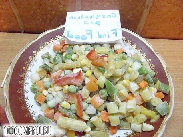 Фото - Італійський суп з овочами аль денте - фото 4 кроки