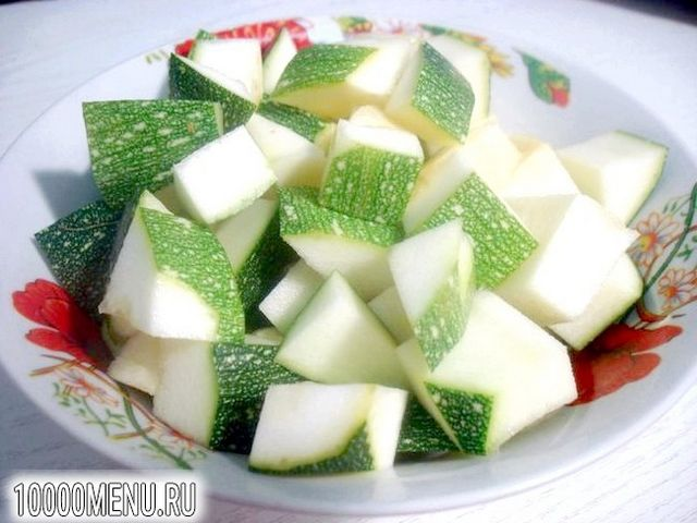 Фото - Суп пюре з цукіні з фрикадельками - фото 4 кроки