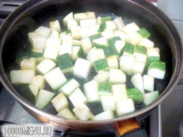 Фото - Суп пюре з цукіні з фрикадельками - фото 5 кроку