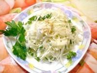 Як приготувати капустяний салат з імбиром - рецепт