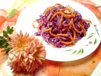 Як приготувати капустяний салат з морквою по-корейськи - рецепт