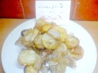 Як приготувати картоплю по-українськи - запечена з салом і спеціями - рецепт