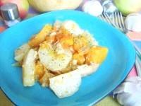 Як приготувати картоплю з домашньою тушонкою і гарбузом - рецепт