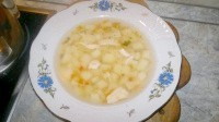 Як приготувати картопляно-вермішелевий супчик з курочкою - рецепт