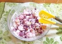 Як приготувати картопляний салат з гранатом - рецепт