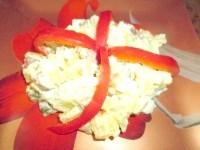 Як приготувати картопляний салат з шинкою і маринованими огірочками - рецепт