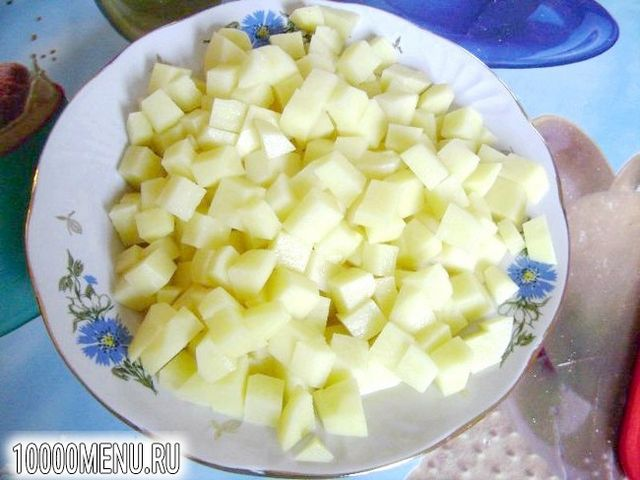 Фото - Картопляний суп з м'ясом - фото 3 кроки