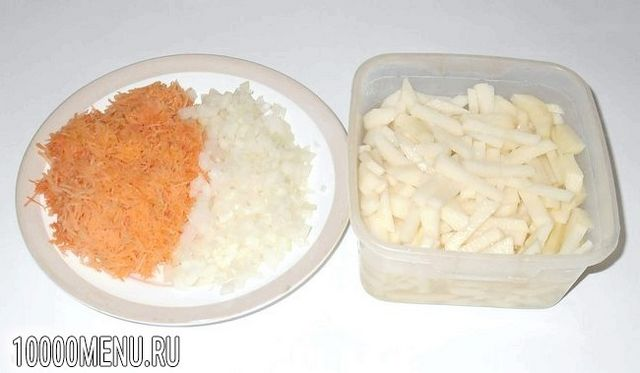 Фото - Картопляний суп з вермішеллю - фото 2 кроки