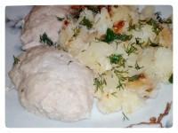 Як приготувати картоплю з паровими котлетами - рецепт
