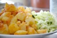 Як приготувати картоплю тушковану з овочами в мультиварці - рецепт