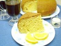 Як приготувати кекс з курагою і лимонним соком - рецепт