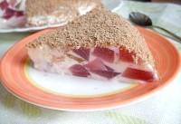 Як приготувати журавлинний торт-желе - рецепт