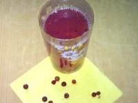 Як приготувати компот бруснично-персиковий - рецепт