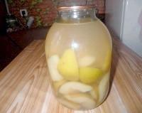 Як приготувати компот з груш на зиму - рецепт