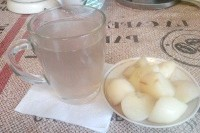 Як приготувати компот з інжировим персиків? рецепт