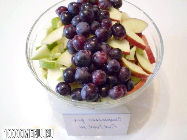Фото - Компот з яблук груш та винограду - фото 2 кроки
