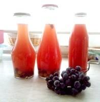 Як приготувати компот з винограду з корицею - рецепт