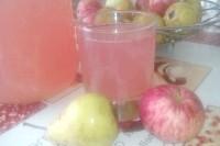 Як приготувати компот яблучно-грушевий зі сливами? рецепт