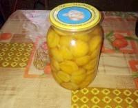 Як приготувати консервовані абрикоси без цукру на зиму - рецепт