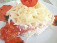 Як приготувати крабовий салатик з черрі - рецепт