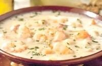 Як приготувати крем-суп з креветок з сиром? рецепт