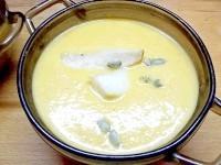 Як приготувати крем-суп з гарбуза з грушами - рецепт