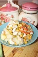 Як приготувати курку з овочами в мультиварці - рецепт