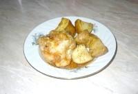Як приготувати курку в соусі з апельсина і цибулі - рецепт