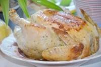 Як приготувати курку запечену цілком в мультиварці - рецепт