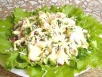 Як приготувати курячий салат з редискою і зеленню - рецепт
